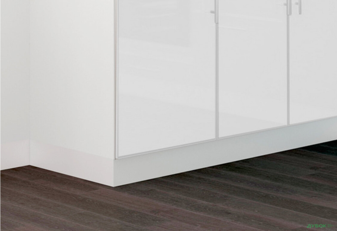 Плинтус МДФ для кухонь MIRROR GLOSS MebelStar 2.04 м