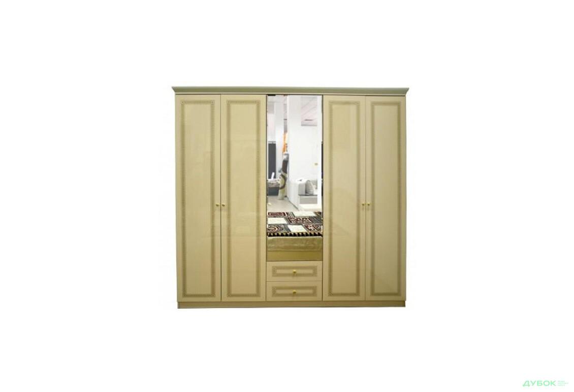 Модульна спальня Стелла Шафа-гардероб 5Д (махонь)
