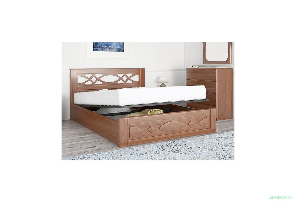 Ліжко Ліана 160 (дер.каркас+пруж. підйомний механізм)