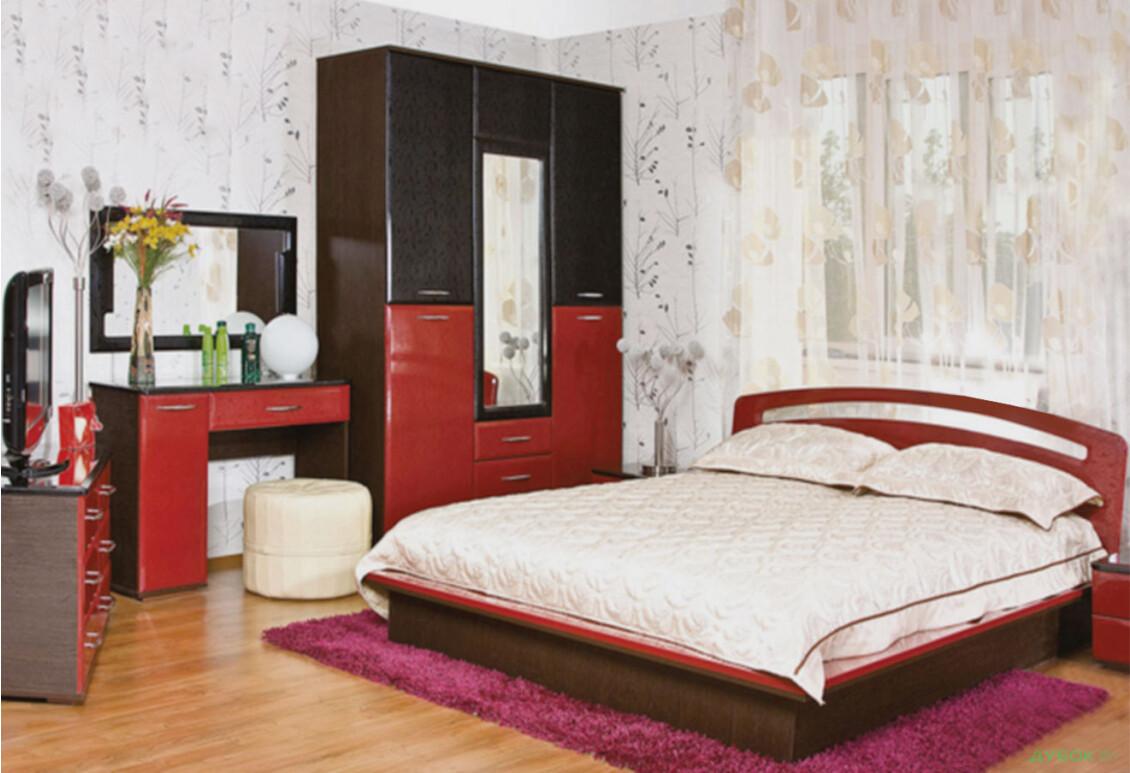 Модульная спальня Верона Лак Лилия