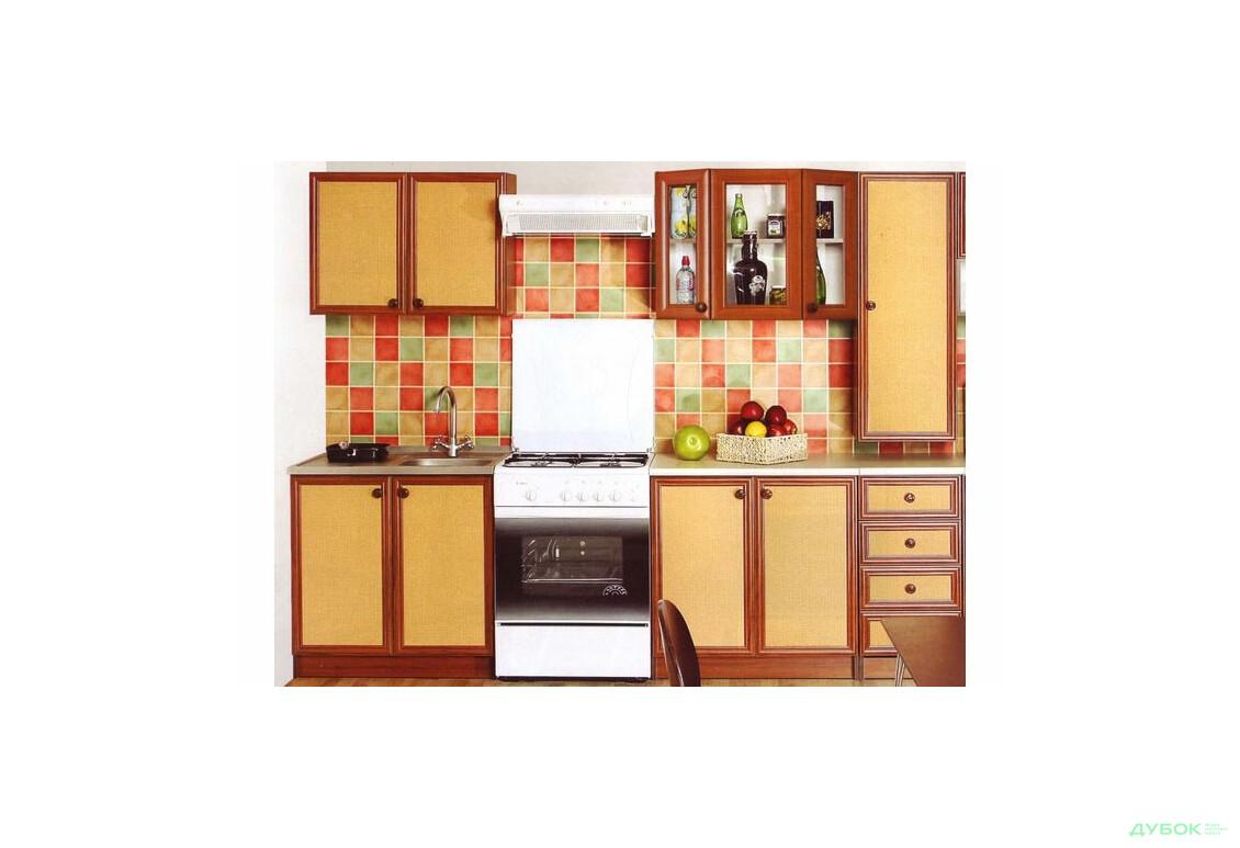 Кухня Тина Нова Ротанг с пеналом 2.0 НФ