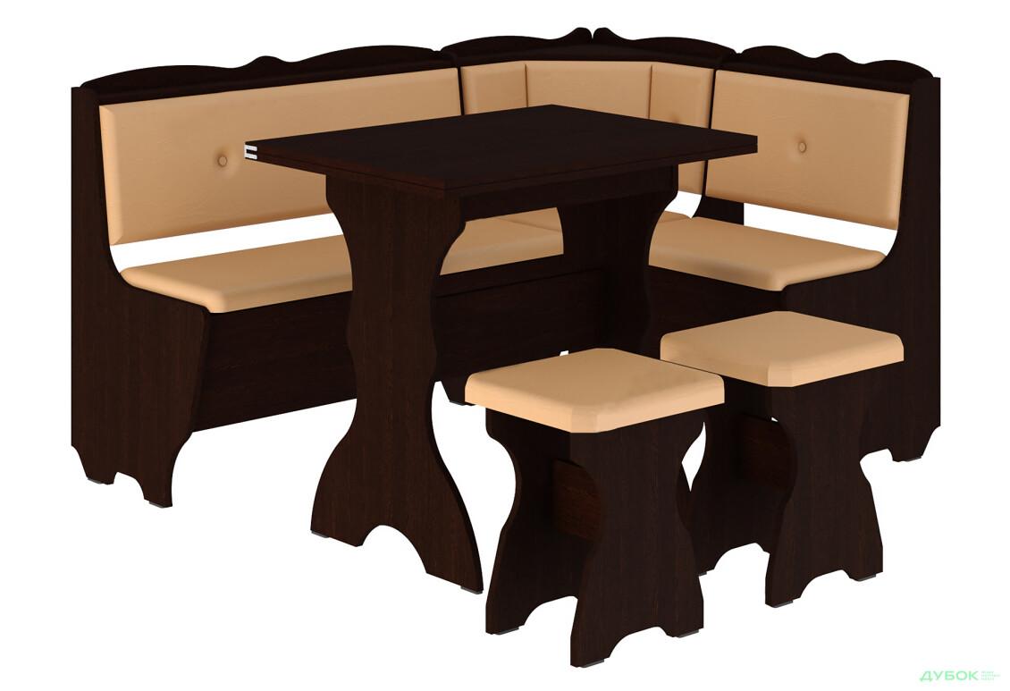 Кухонный уголок Лорд (с раскл.столом)