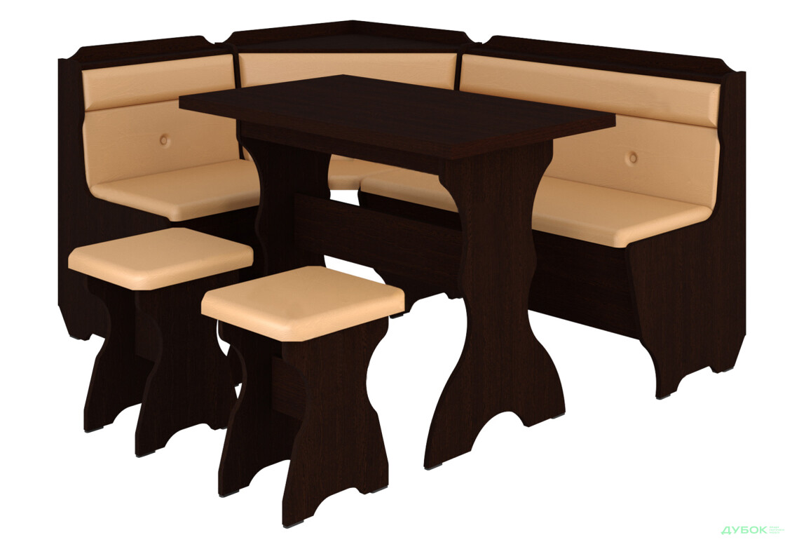 Кухонний куточок Кардинал (з прост. столом)