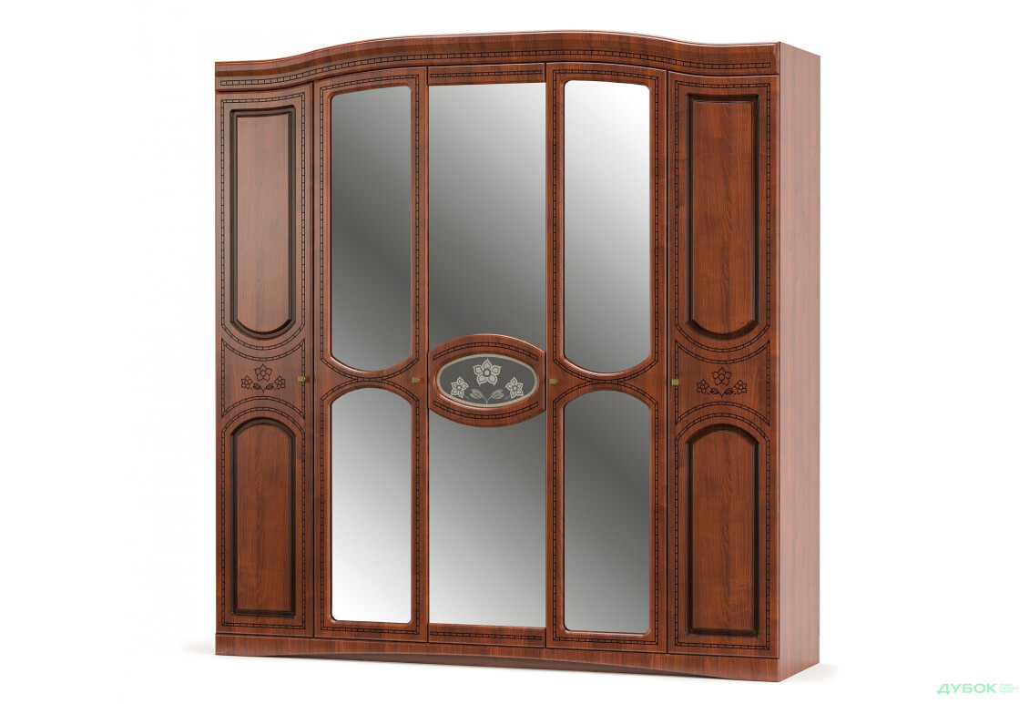 Модульная спальня Милано Шкаф 5Д