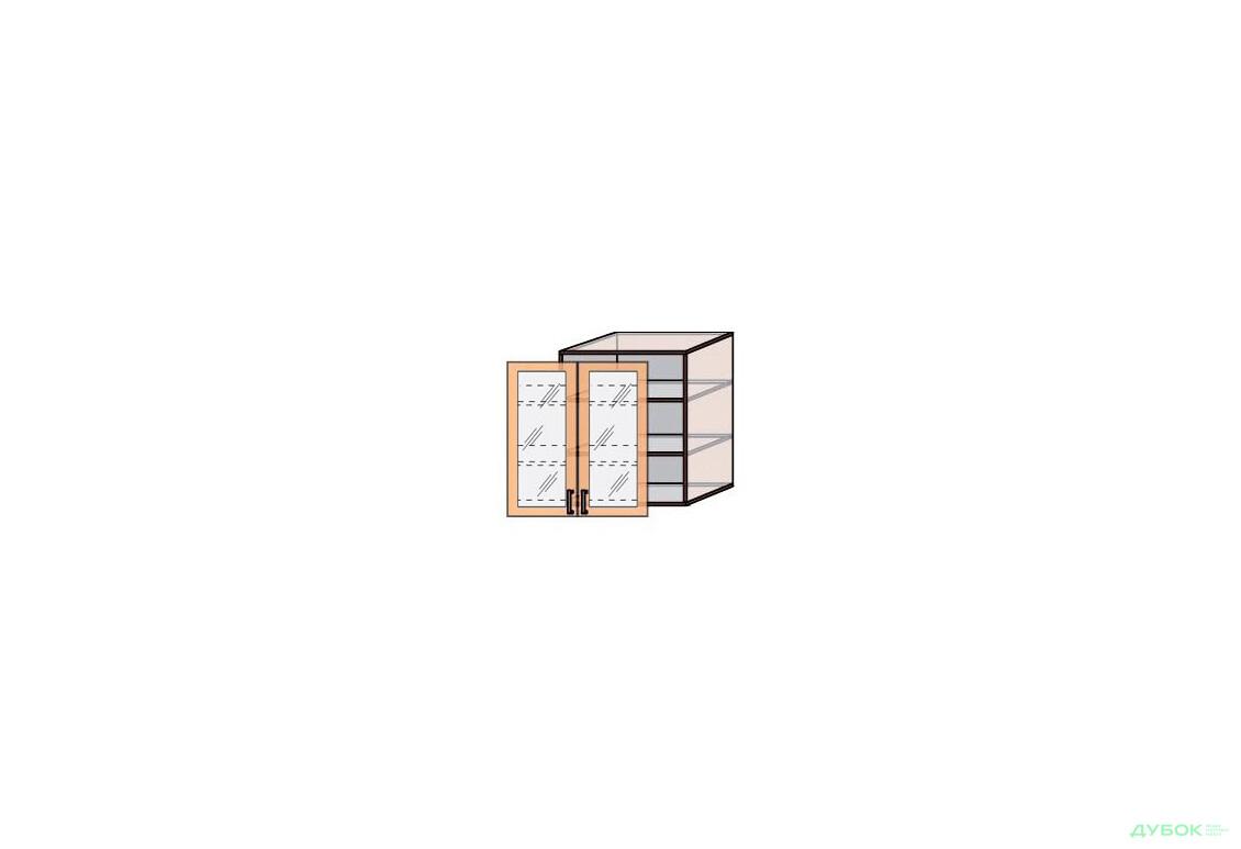 В8 Тумба витрина 2Д 80
