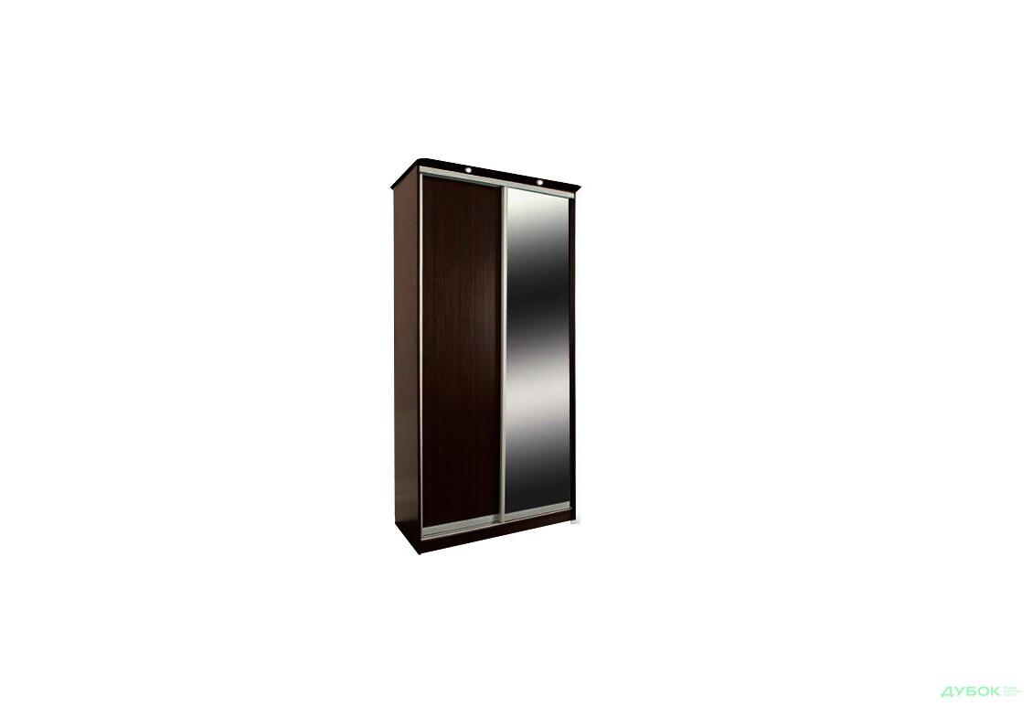 Шкаф-купе 2Д 1.2 м 9 Комплект: ДСП + Зеркало + Карниз