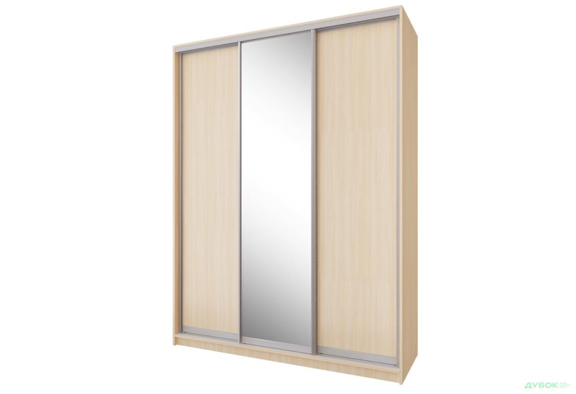 Шкаф-купе 3Д 1.8 м 3 Комплект: 2 ДСП + Зеркало