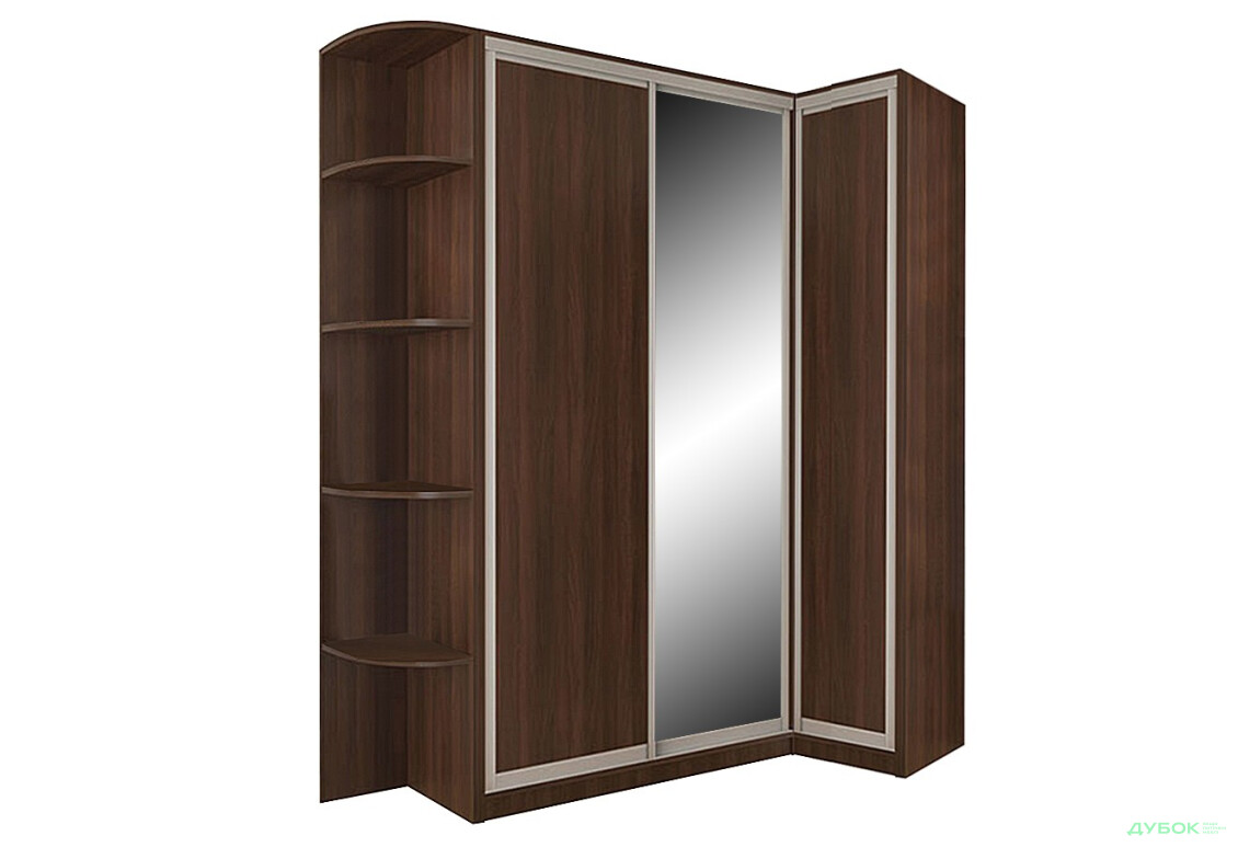 4 Комплект 210х90: 2 ДСП + Зеркало + Угол