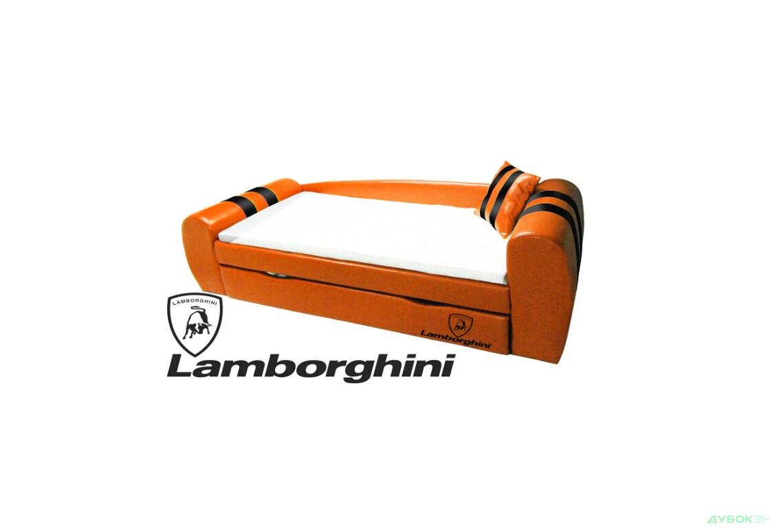 Диван Ліжко Гранд Ламборджині, ламелі + виїздний ящик