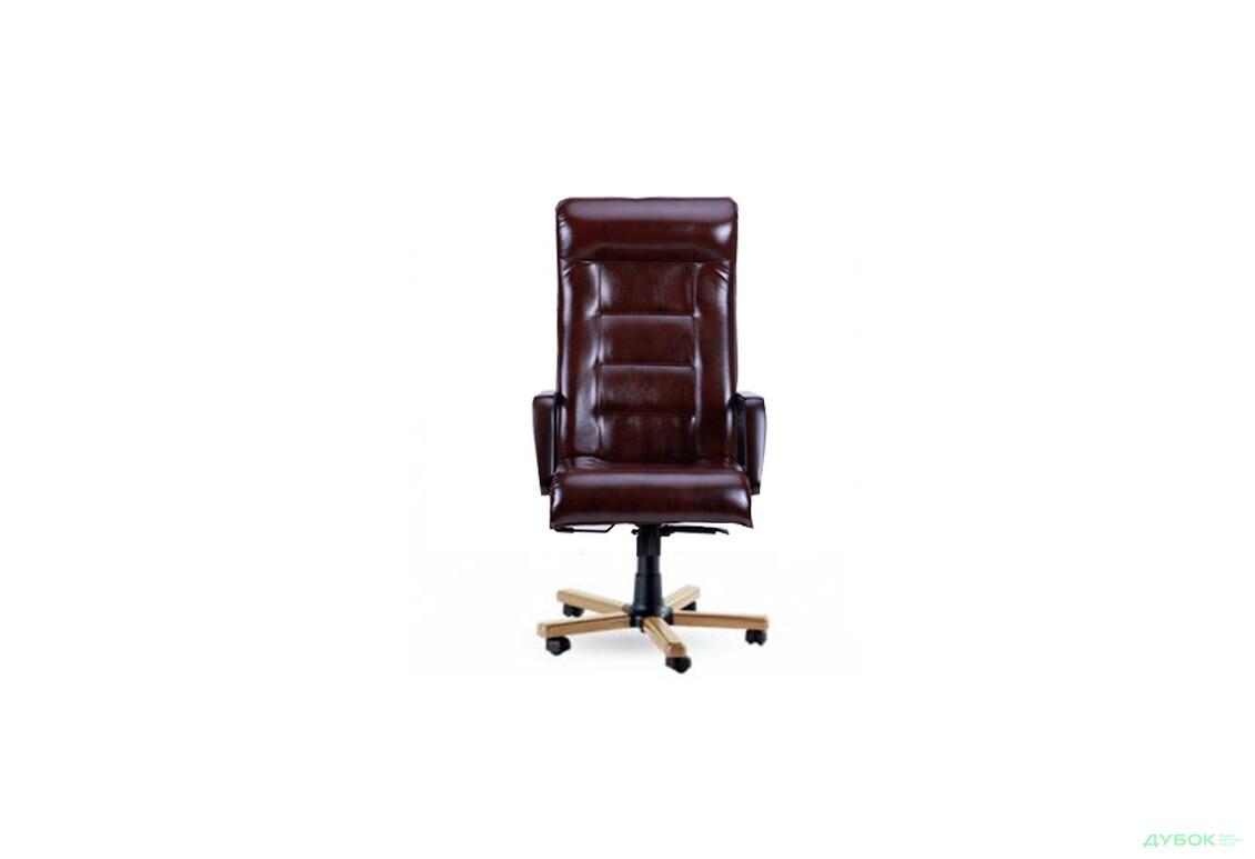 Кресло Роял Люкс бук, Мадрас Дарк Браун, арт.139138