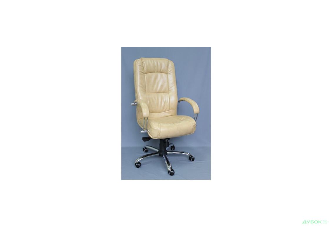 Кресло Марсель Хром МВ, Мадрас голд беж, арт.33740