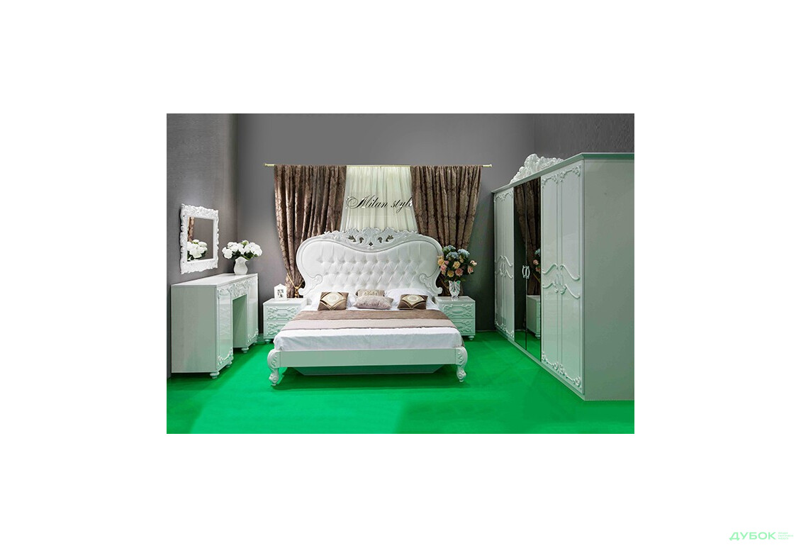 Модульная спальня Лючия (белая)