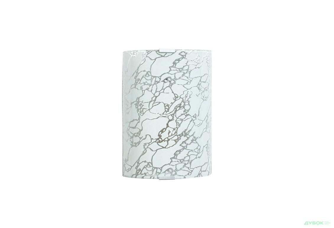 Модерн белый 1х60 Вт, 250х190 прямоуг, арт. 22192б