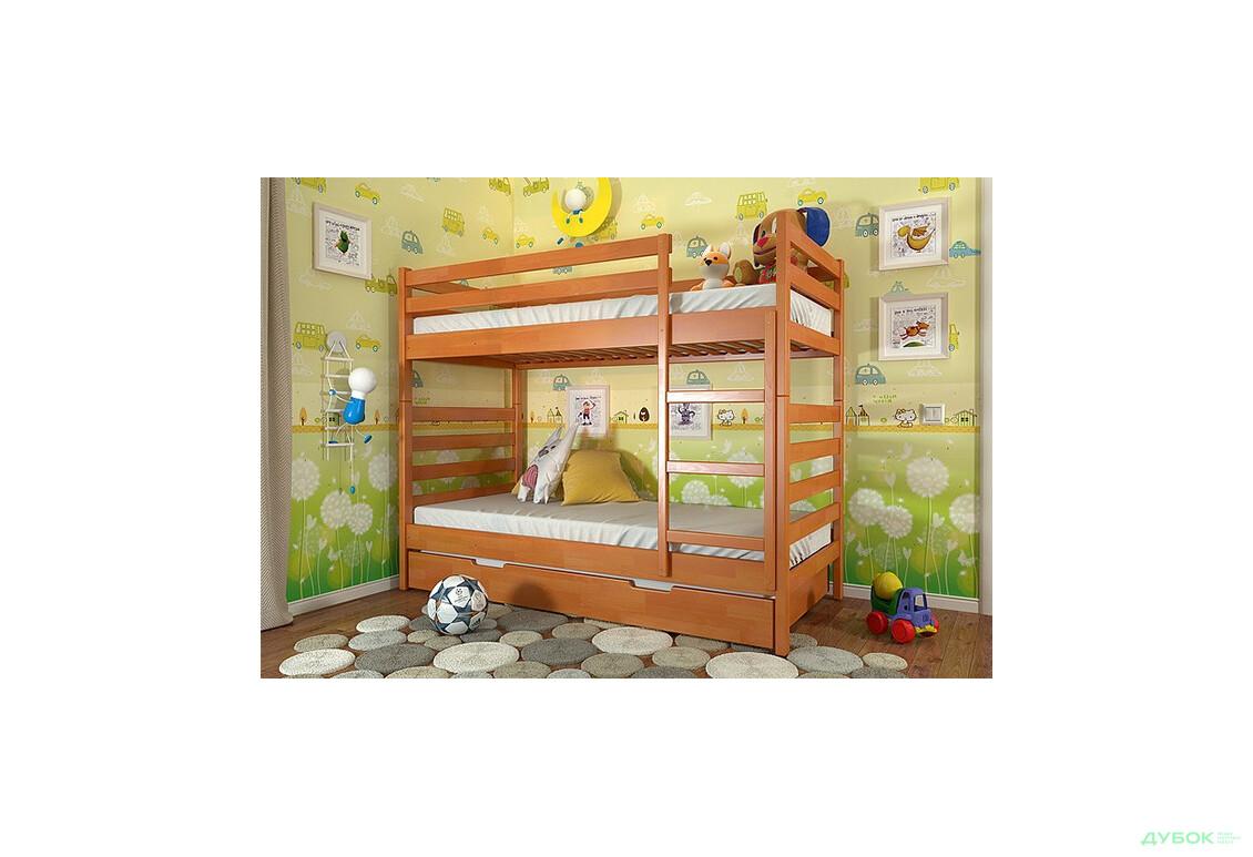 Ліжко двоярусне Pіо 80х190 (без шухляд)