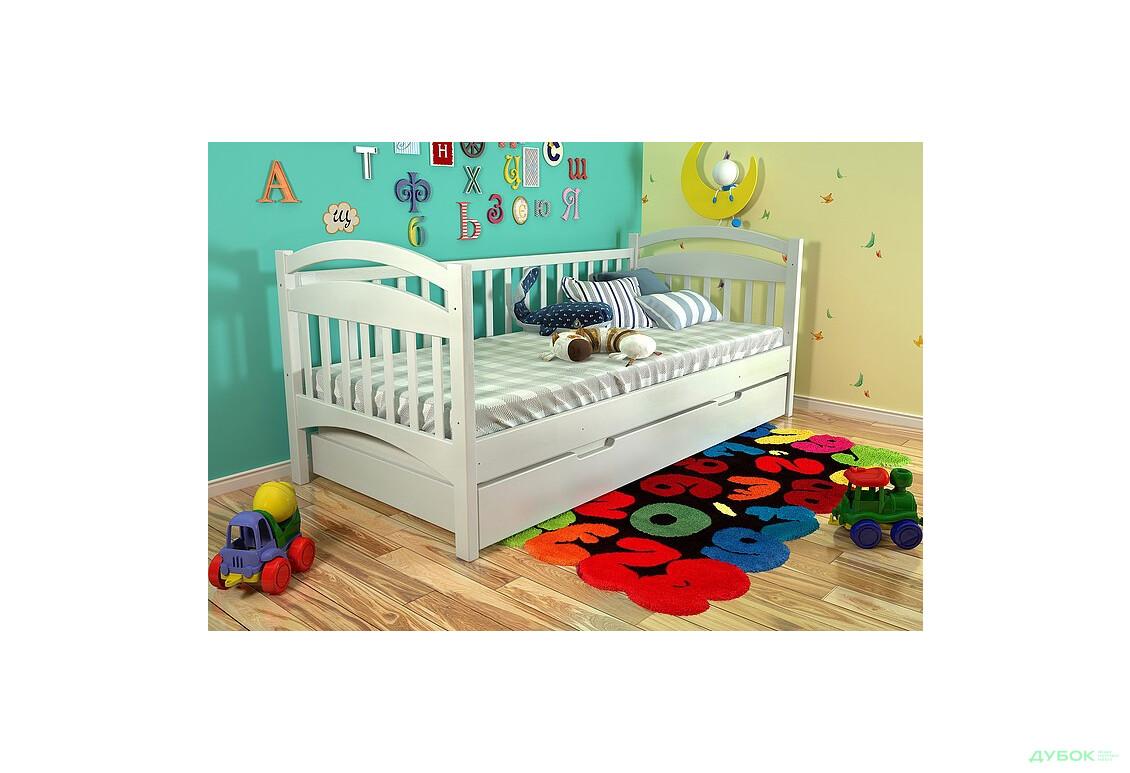 Кровать Алиса сосна 80х190 (без шухляд)