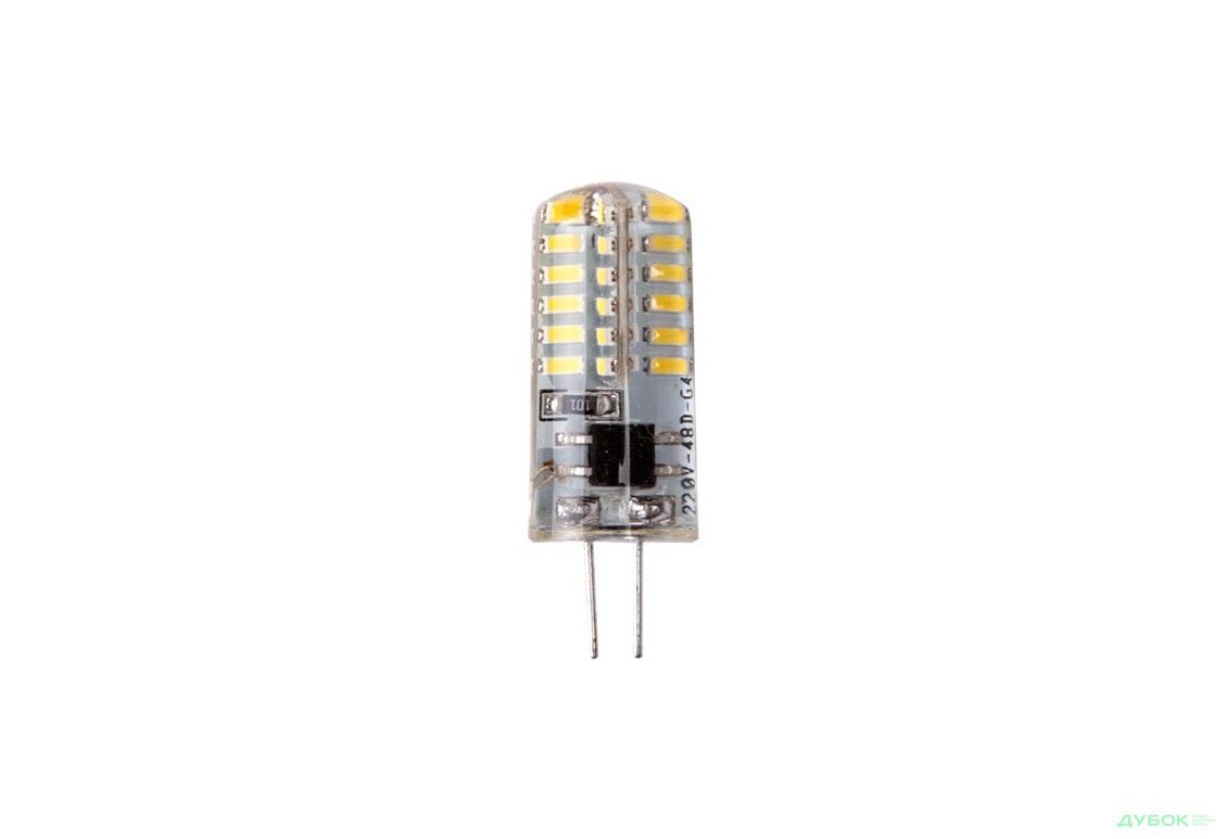 Лампочка LED G4, ACDC12V 3014/24 130-150lm, арт.100416