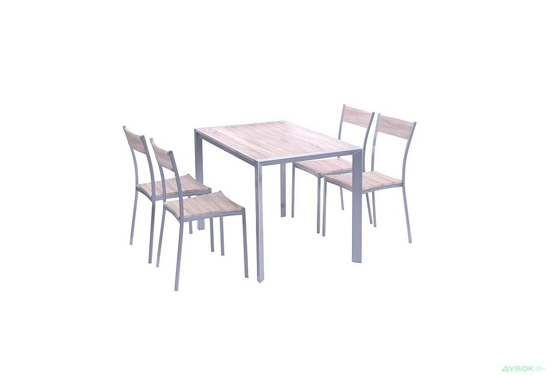 Комплект Чебрець стіл + 4 стільця ( YS2506M + YS2501M), арт.513437