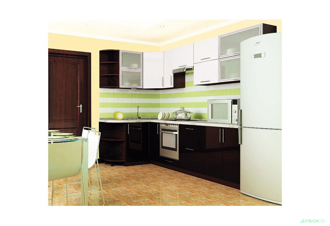Модульная кухня МоДа / MoDa 1.5x2.9 — комплект