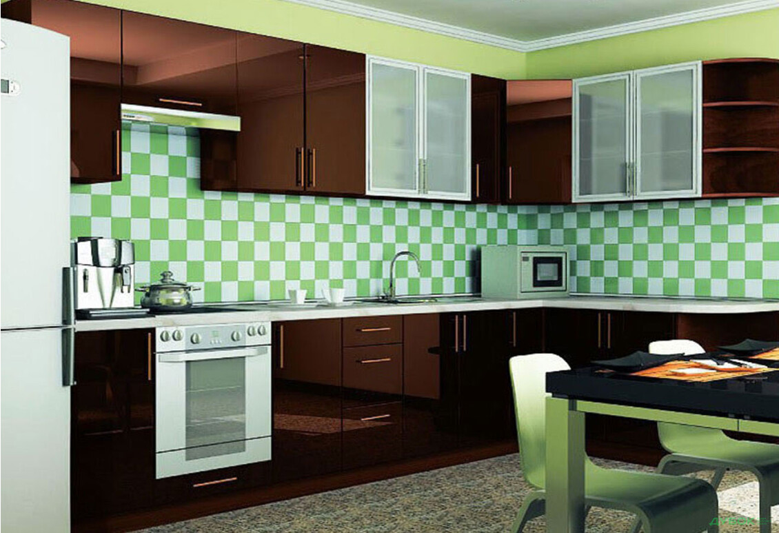 Модульная кухня МоДа / MoDa 3.5x1.7 — комплект