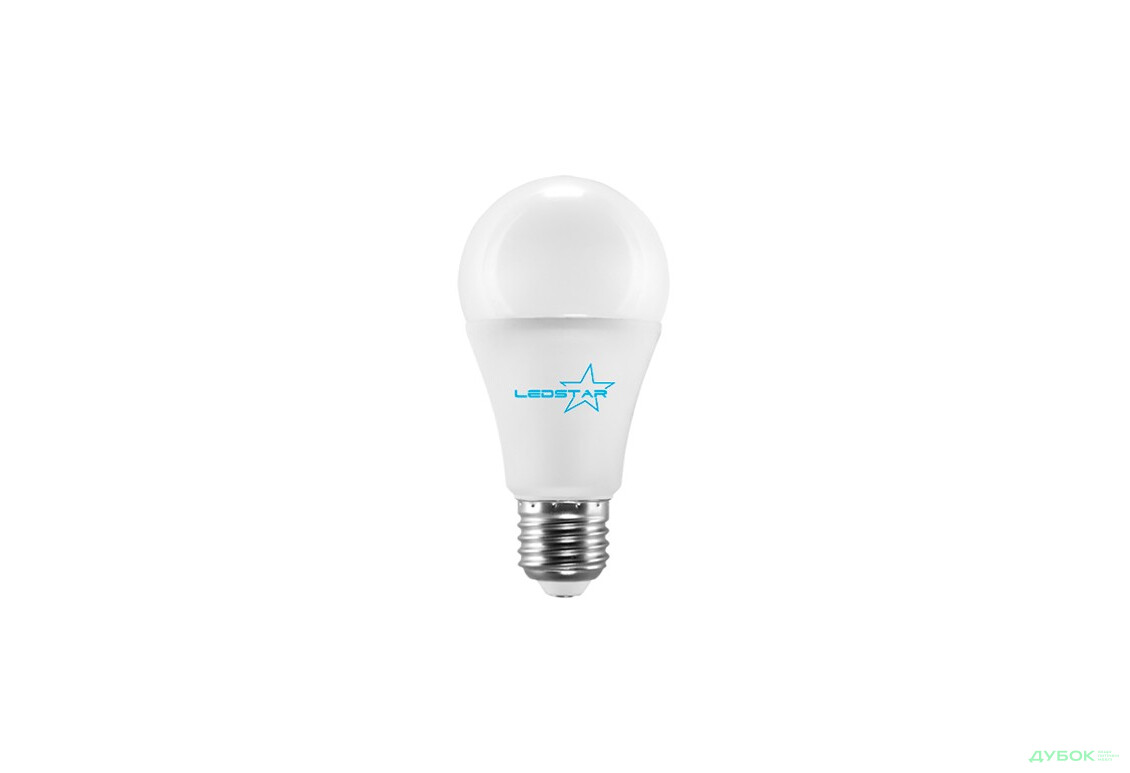 Светлодиодная лампа LEDSTAR E27 A60 арт.102405