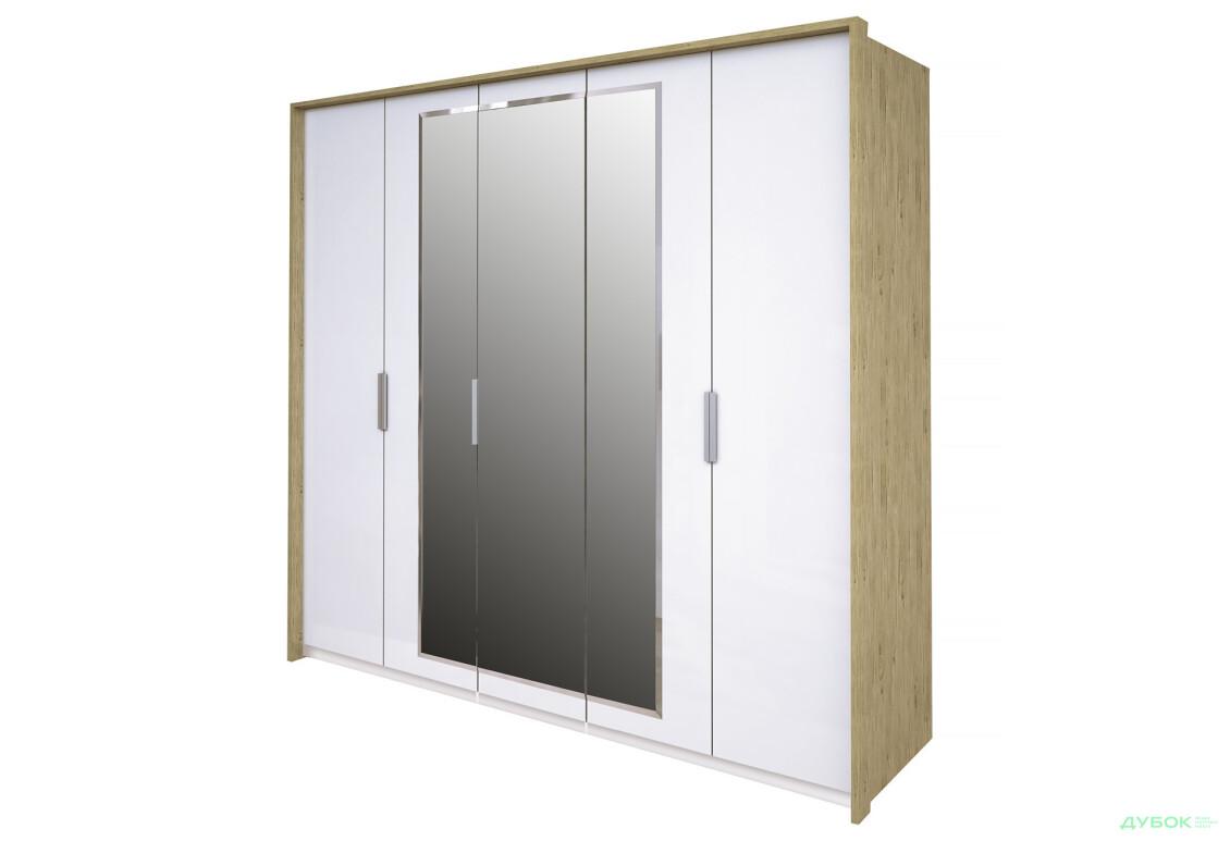 Модульная спальня Флоренция Шкаф 5Д с зеркалами