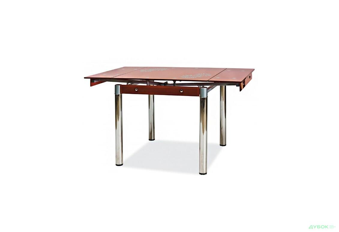 Стол GD082 коричневый, арт.GD082BR