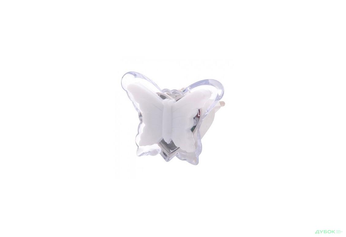 HL994 Ночник 3 LED 0.4W Бабочка син. 085-001-0005