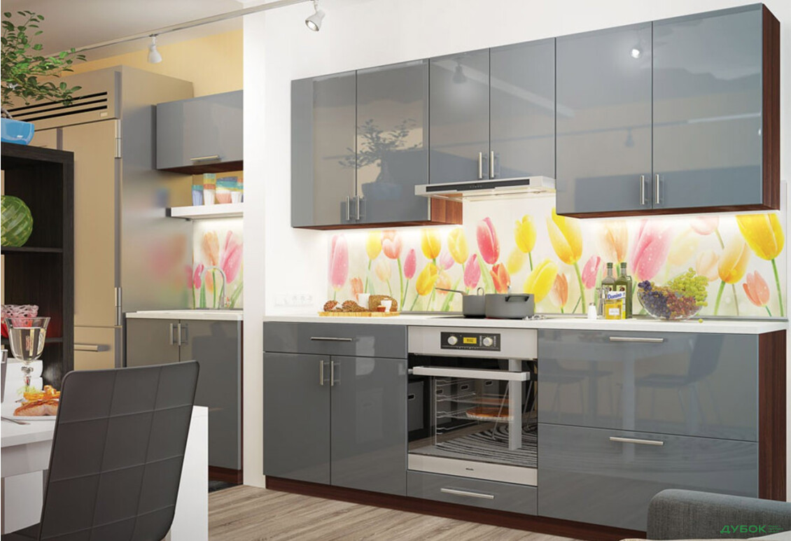 Кухня Колор-міх / Color-mix Комплект 0.8+2.2