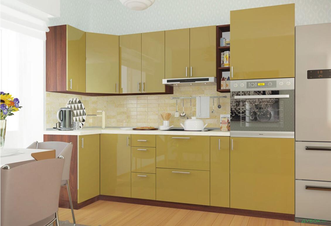Кухня Колор-міх / Color-mix Угловая кухня 1.0х2.7