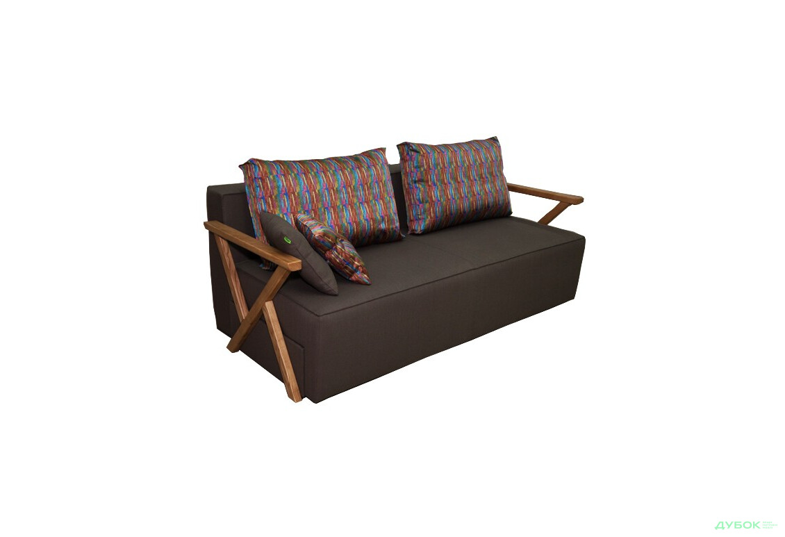 Диван Прайм New Лайт Диван + подушки холофайбер/комплект 2шт
