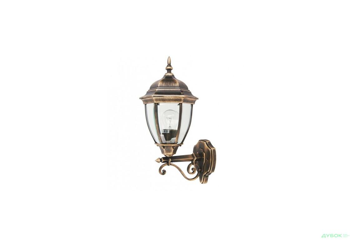 Светильник парковый QMT 1276S Dallas 2 100Вт стекл.стар/зол, арт. 6403