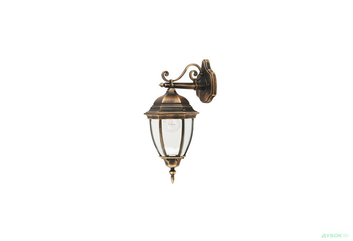 Светильник парковый QMT 1277S Dallas 2 100Вт стекл.стар/зол, арт. 6404