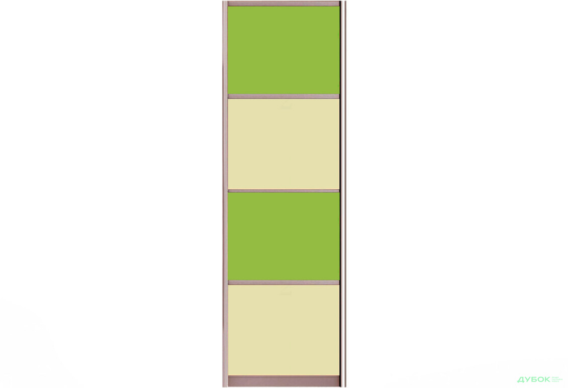 Фасад Цвет.стекло тип4_604