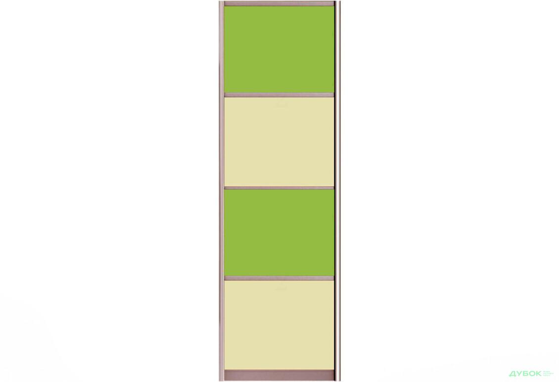 Фасад Цвет.стекло тип4_611