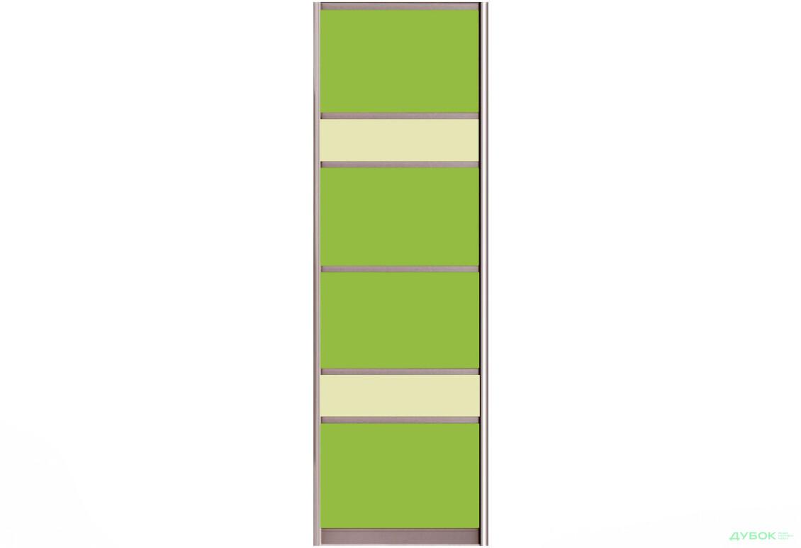 Фасад Цвет.стекло тип6_611