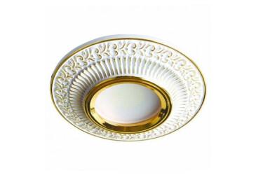 Светильник точечный DL6240 MR16/G5.3/белый золото Feron