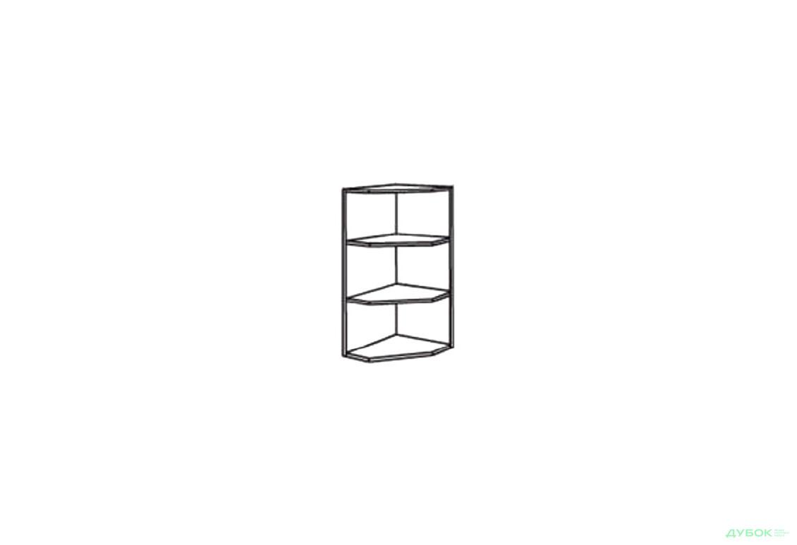 Нико (ДСП) Угловое окончание верх 300/300 ШКН 1100