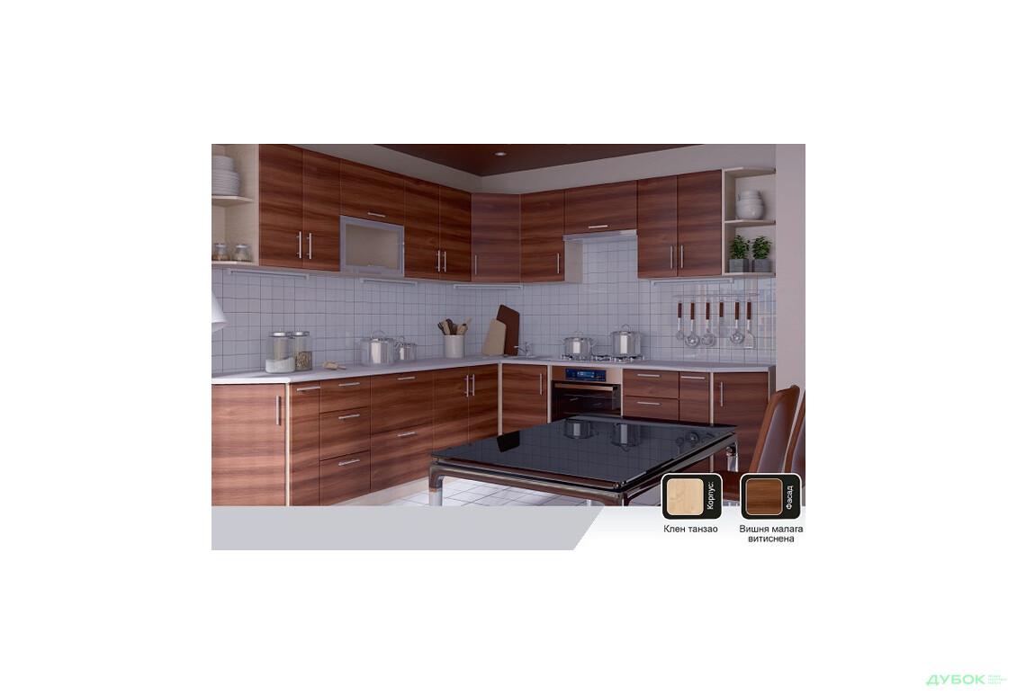 Модульная кухня Нико (МДФ мат)