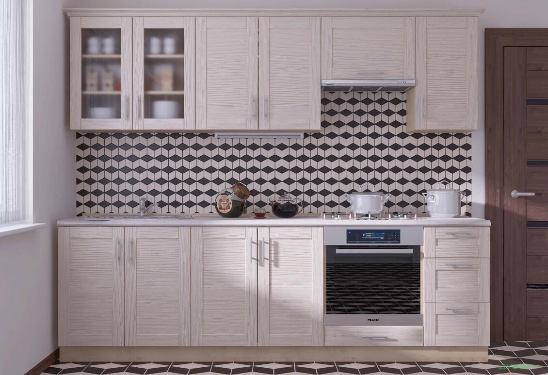 Модульная кухня Нико (МДФ рамка)