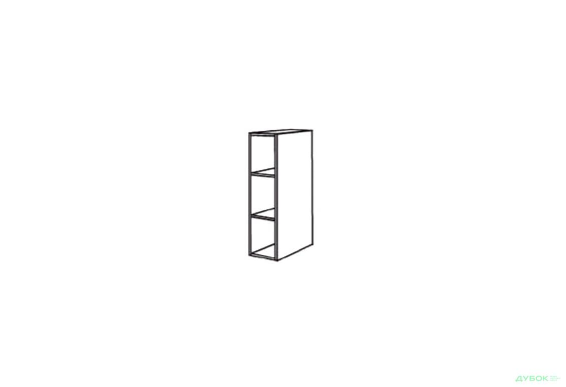 Нико (МДФ рамка) Шкаф нав. 200 ШКН 1093