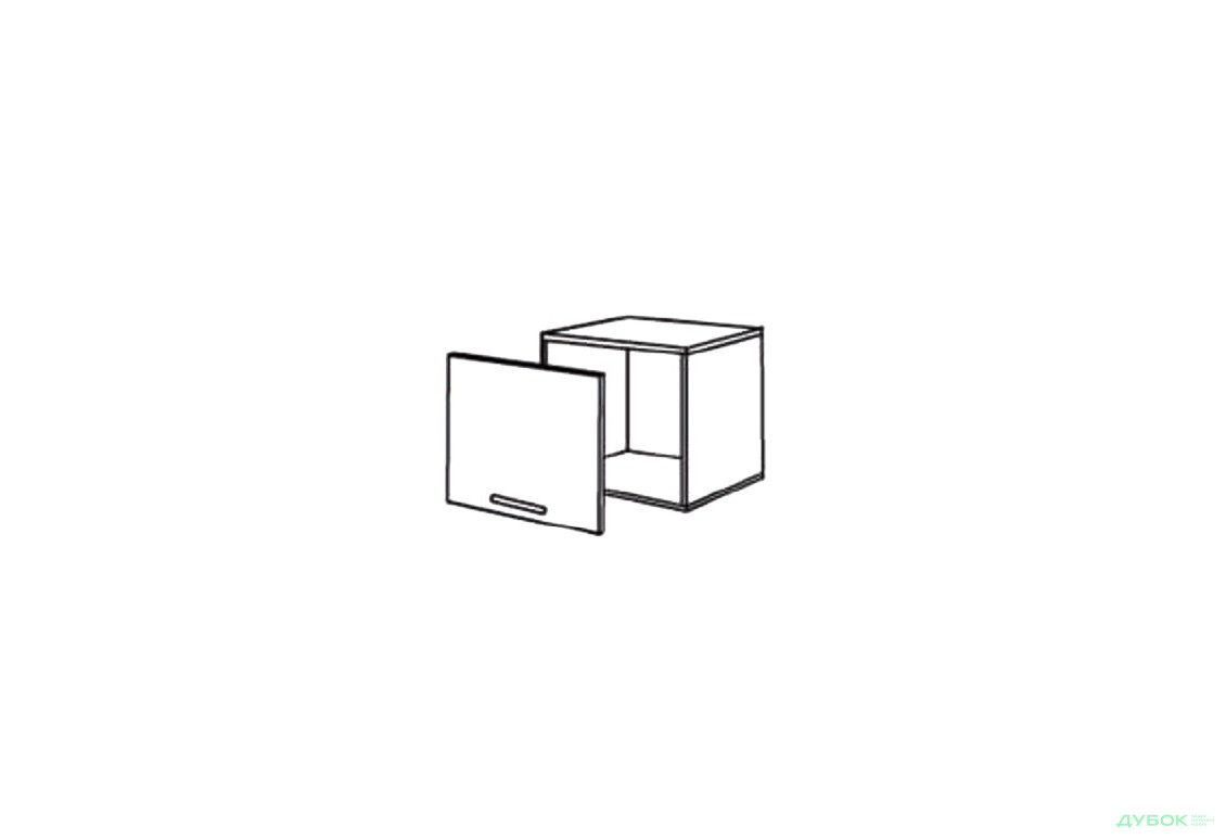 Шкаф нав. 500 ШКН 1098 (вытяжка)