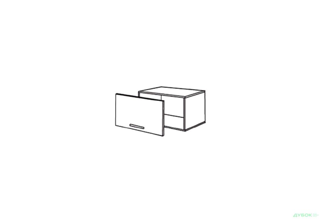 Шкаф нав. 600 ШКН 1097 (вытяжка)