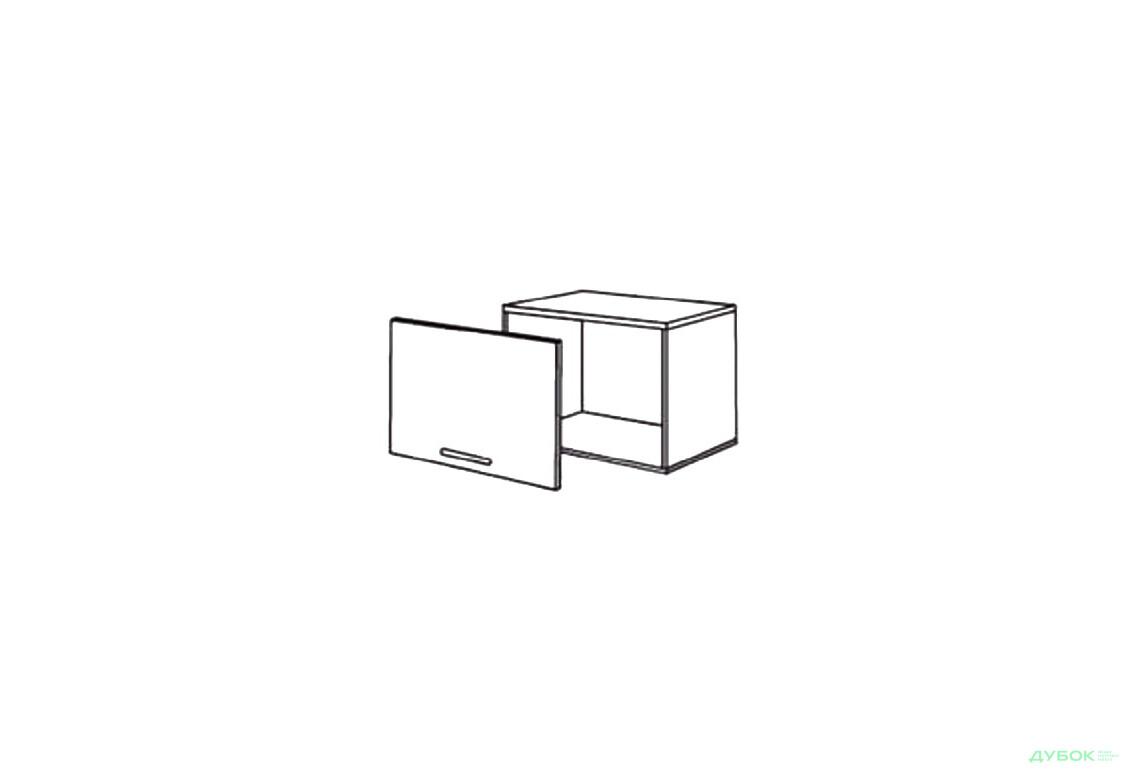Шкаф нав. 600 ШКН 1098.1 (вытяжка)