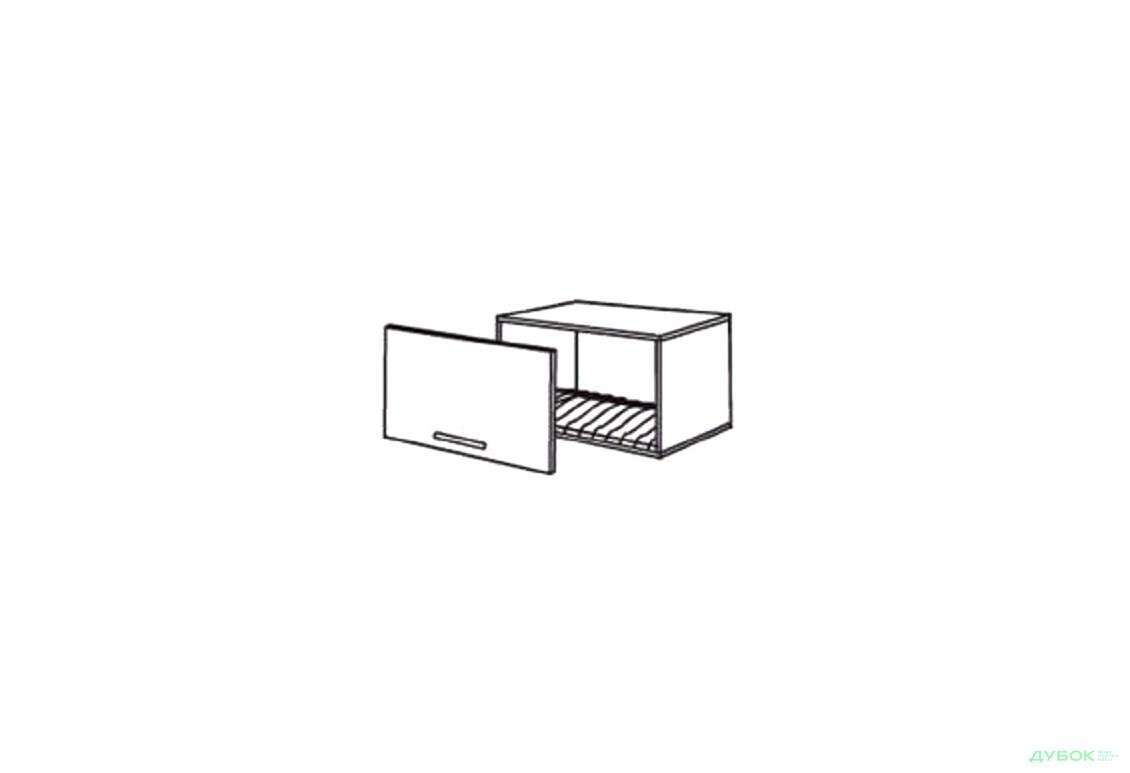 Шкаф нав. 600 ШКН 1101 для посуды