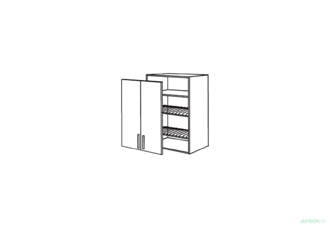 Шкаф нав. 600 ШКН 1110 для посуды