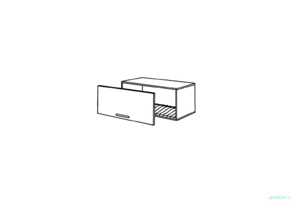 Шкаф нав. 800 ШКН 1101.1 для посуды