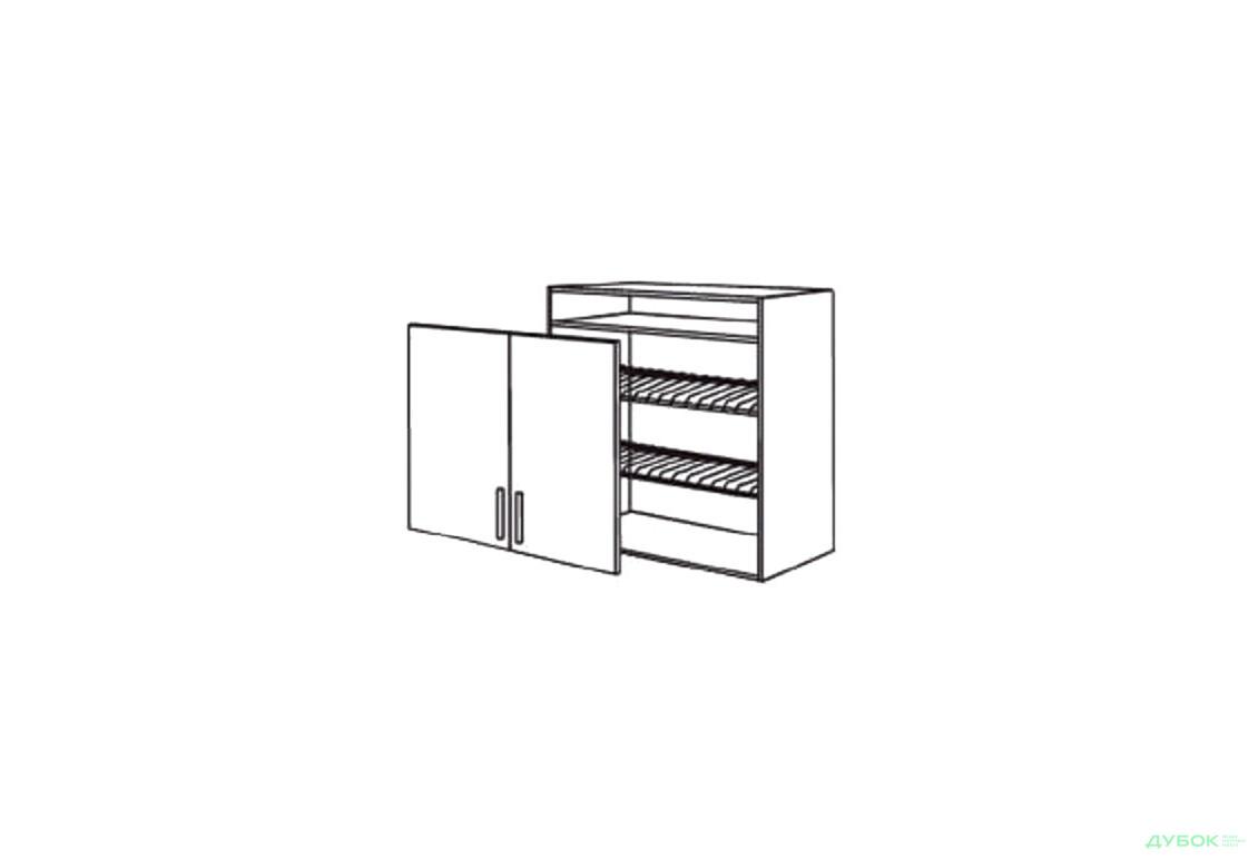 Шкаф нав. 800 ШКН 1106.1 для посуды