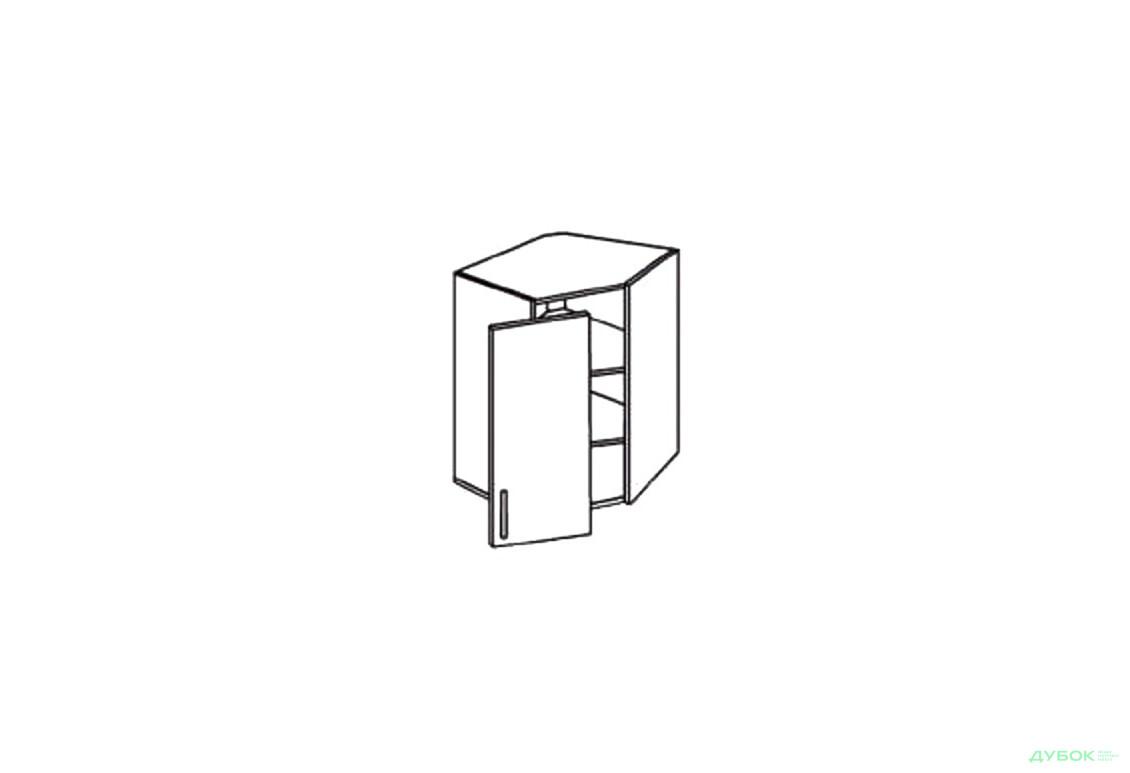 Шкаф нав. угловой 600/600 ШКН 1099.1