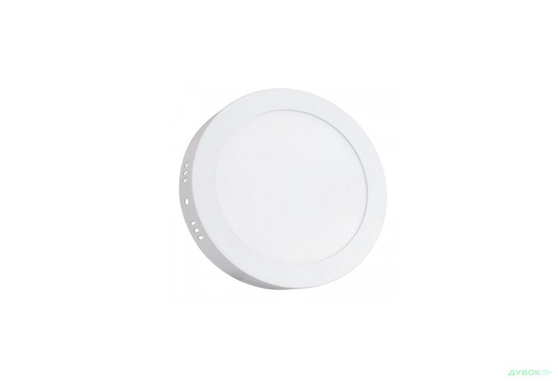 Светильник диодный Biom W-R 6W 6Вт накладноий круг белый 4500К, арт.W-R6-5W