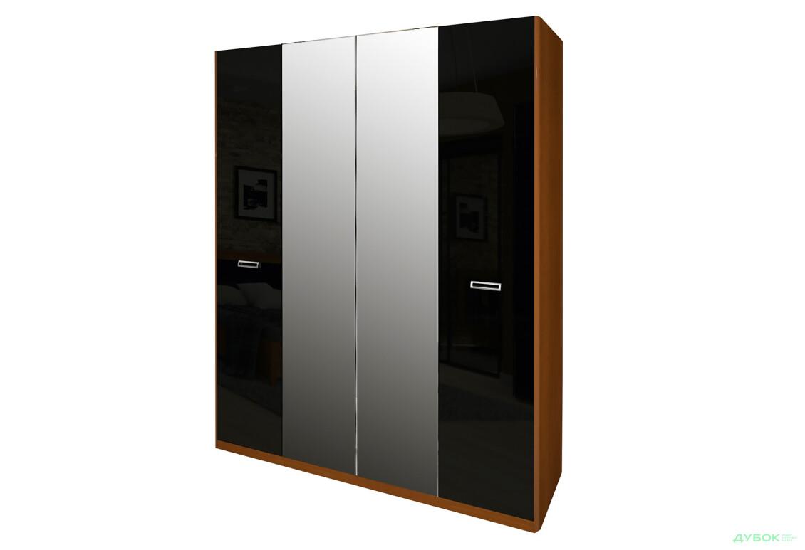 Модульная спальня Бэлла Шкаф 4Д (с зеркалами)